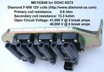 DOHC 6G72 Ignition Coils